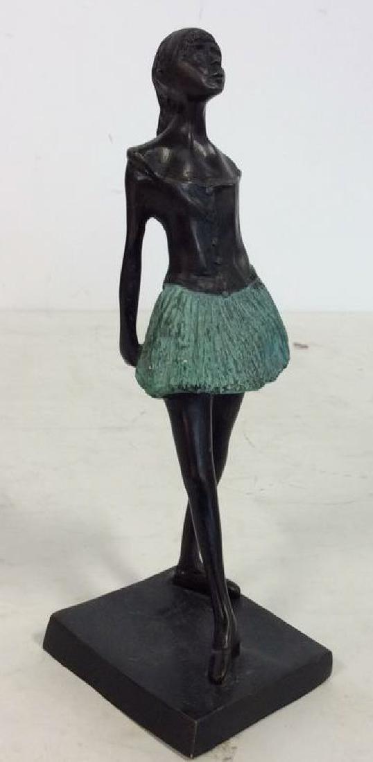 Degas Little Ballerina Metal Reproduction