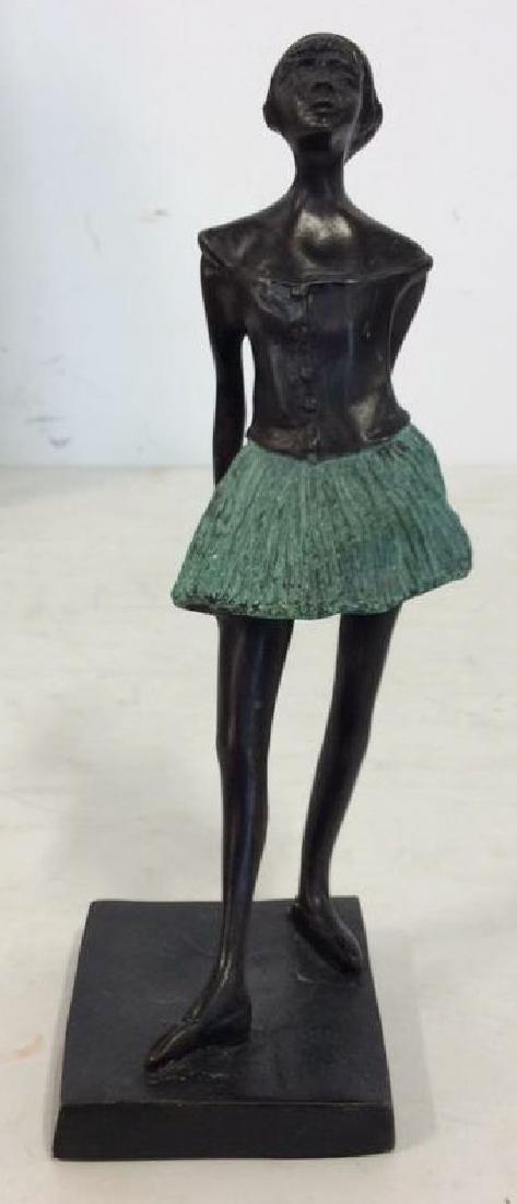 Degas Little Ballerina Metal Reproduction - 2