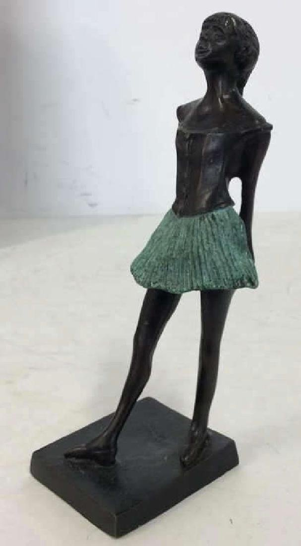 Degas Little Ballerina Metal Reproduction - 3