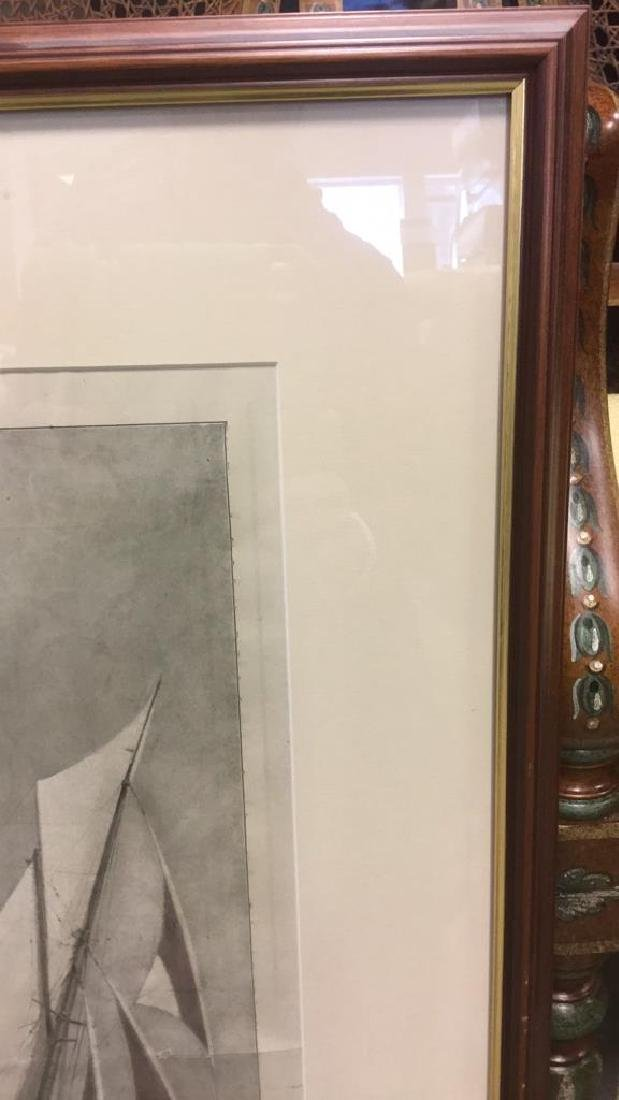 Editorial Nautical Print Of L.A. Shafer Drawing - 6
