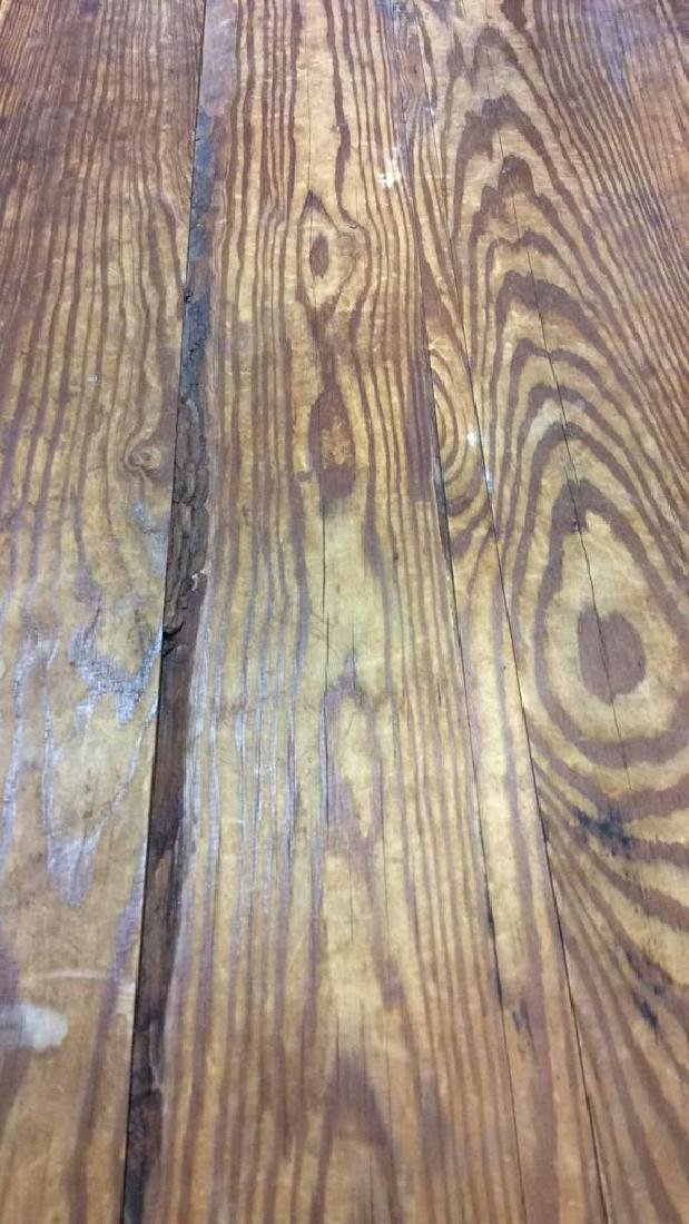 Vintage Wooden Chest Trunk W Handles - 7