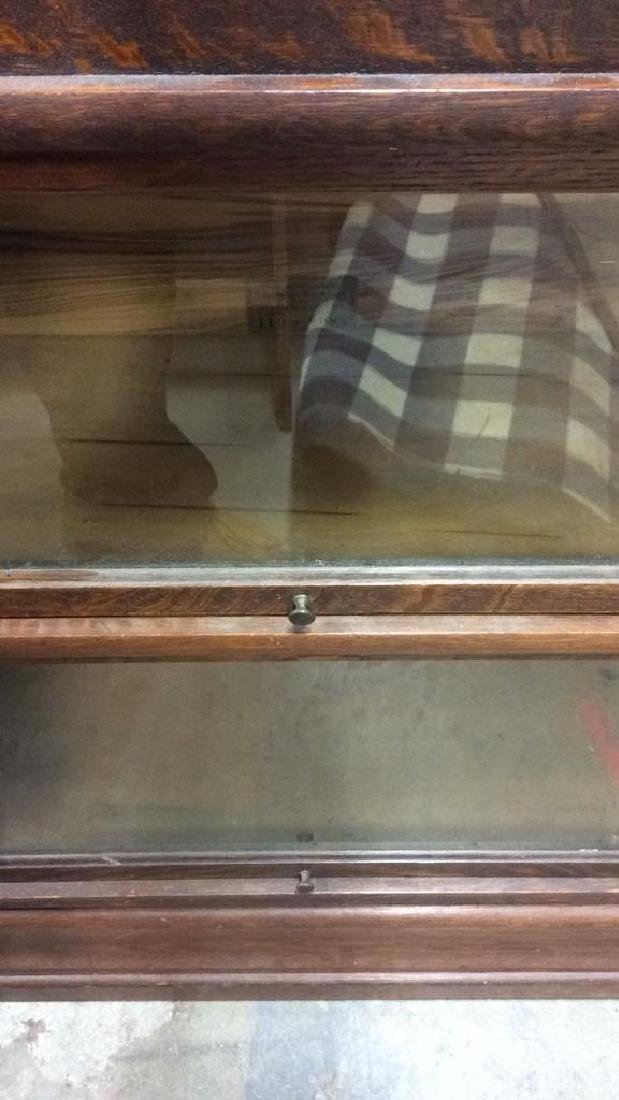 GLOBE WERNIEKE CO 2 Level Barrister Bookcase - 10