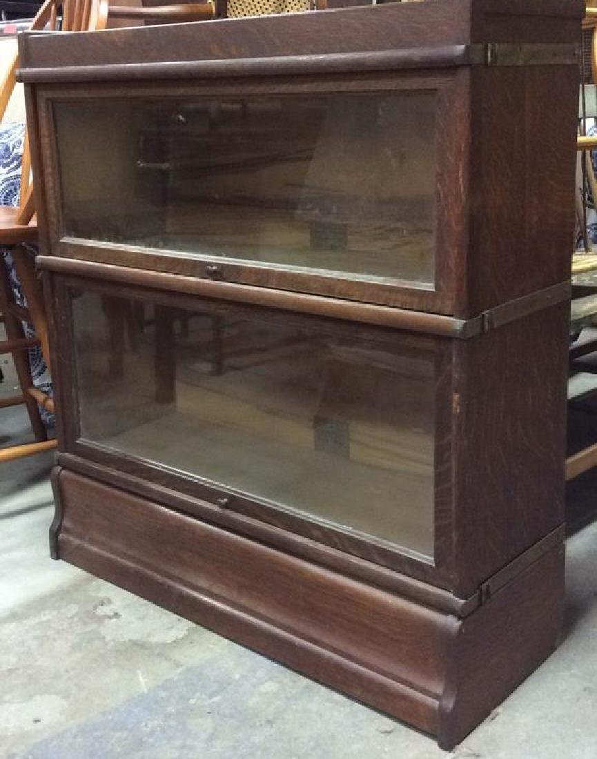 GLOBE WERNIEKE CO 2 Level Barrister Bookcase - 2