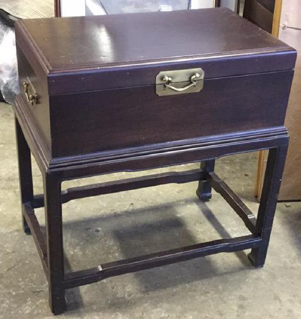 Chest on Stand side Table End Table