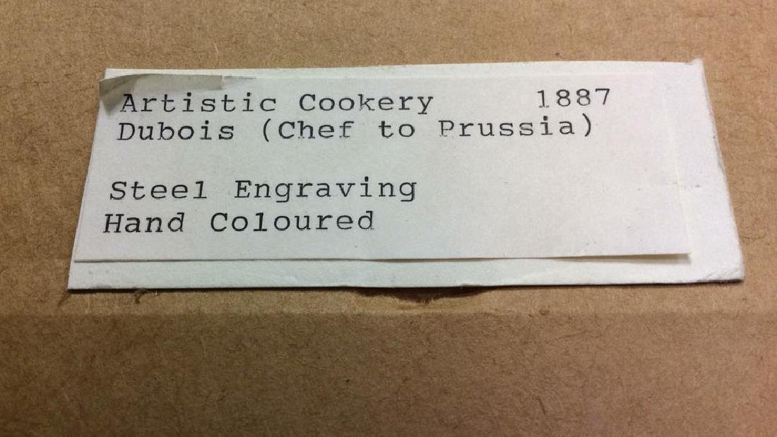 ARTISTIC COOKERY DUBOIS (Chef To Prussia) Artwork - 10