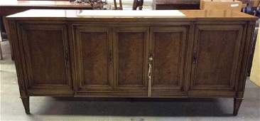 CENTURY Carved Wooden Side Board