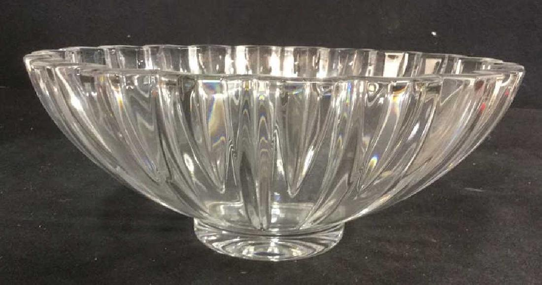 Villeroy And Bosch Signed Crystal Bowl