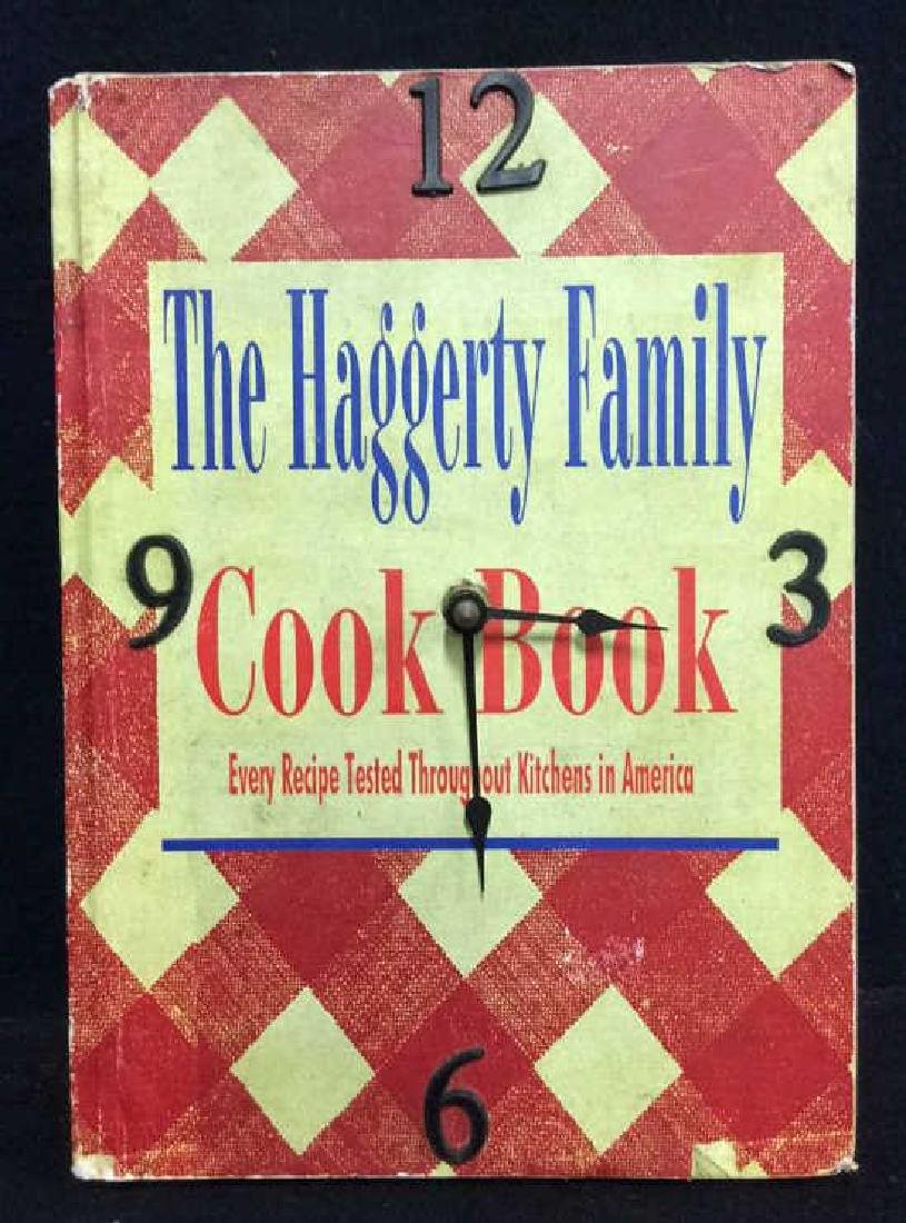 The Haggerty Family Cook Book Clock