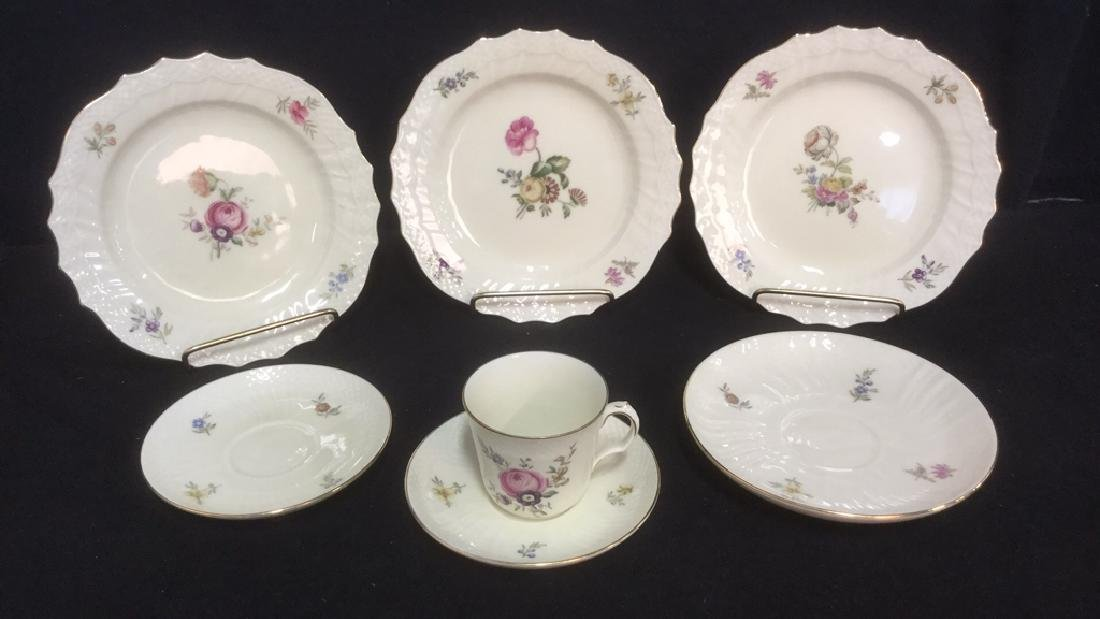 Lot 7 Royal Copenhagen Denmark Frijsenborg Dishes