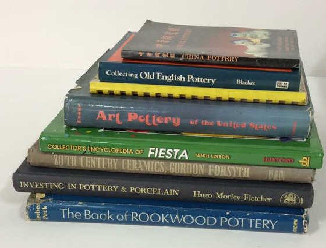 Lot 8 Ceramics and Pottery Reference Books
