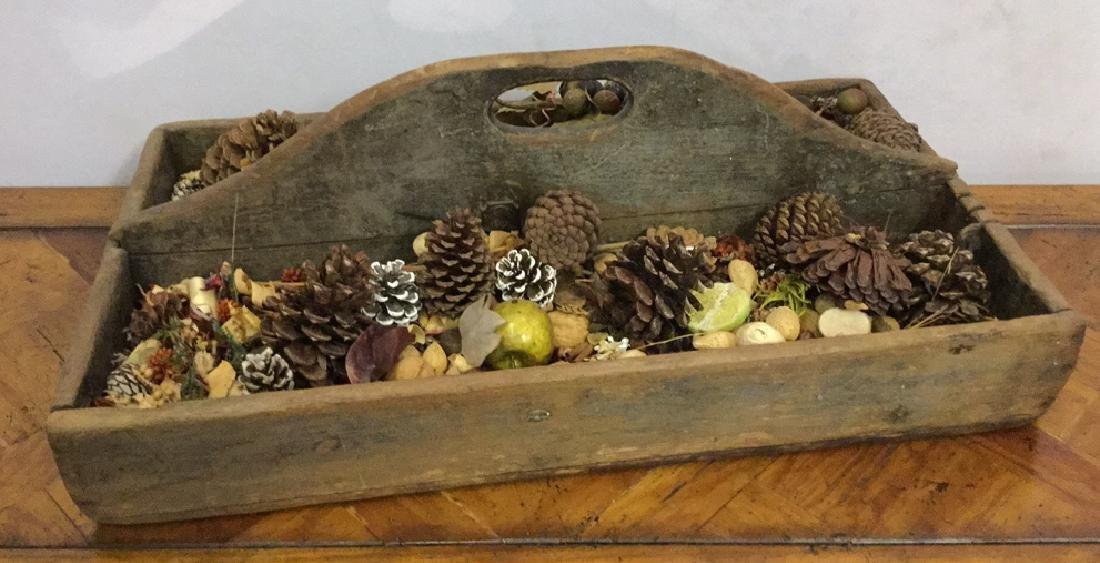 Vintage Decorative Wooden Tray