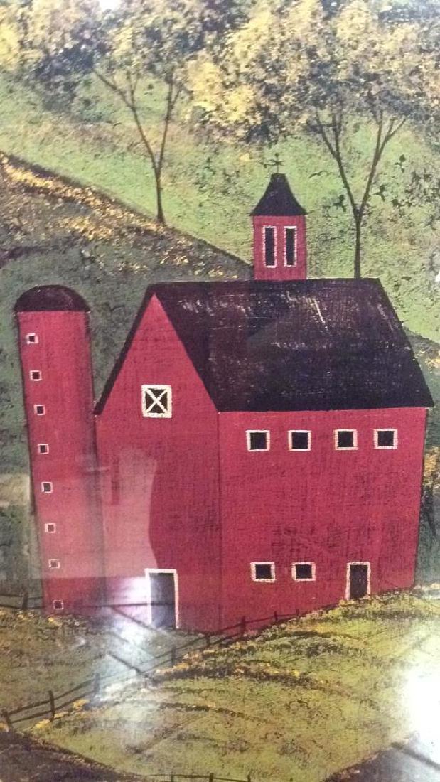 WARREN KIMBLE Framed Farm Print