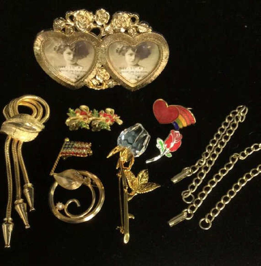 Lot 10 Assorted Costume Jewelry and More