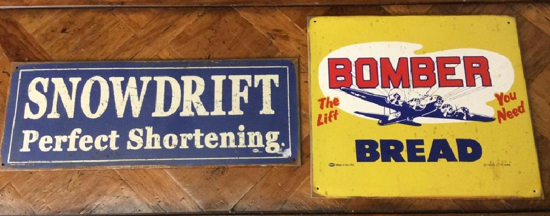 Lot 2 Vintage Metal MUMMERT Signs