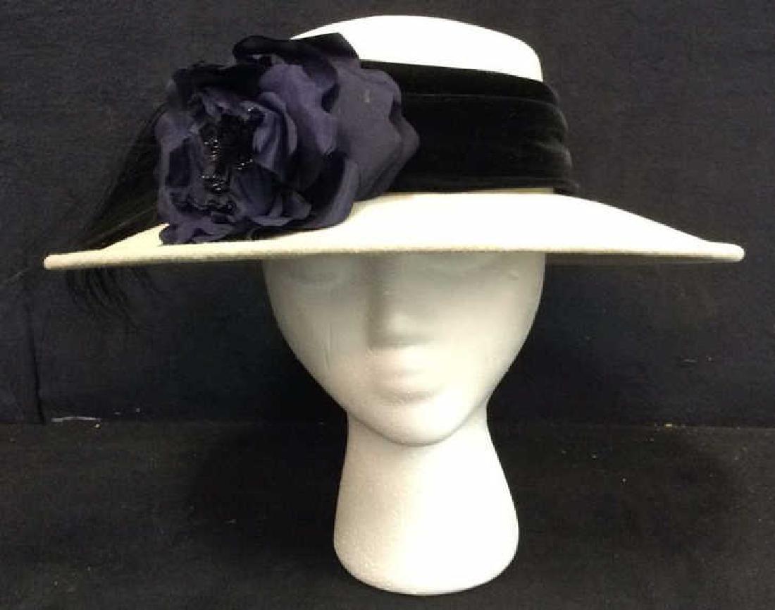 SARAH SOSS Floral Detailed Hat