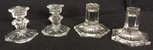 Crystal And Glass Candlesticks Tiffany  Co