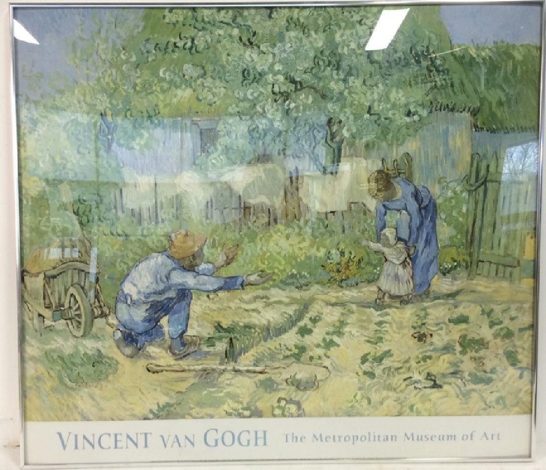 Vincent Van Gogh Framed Exhibition Poster