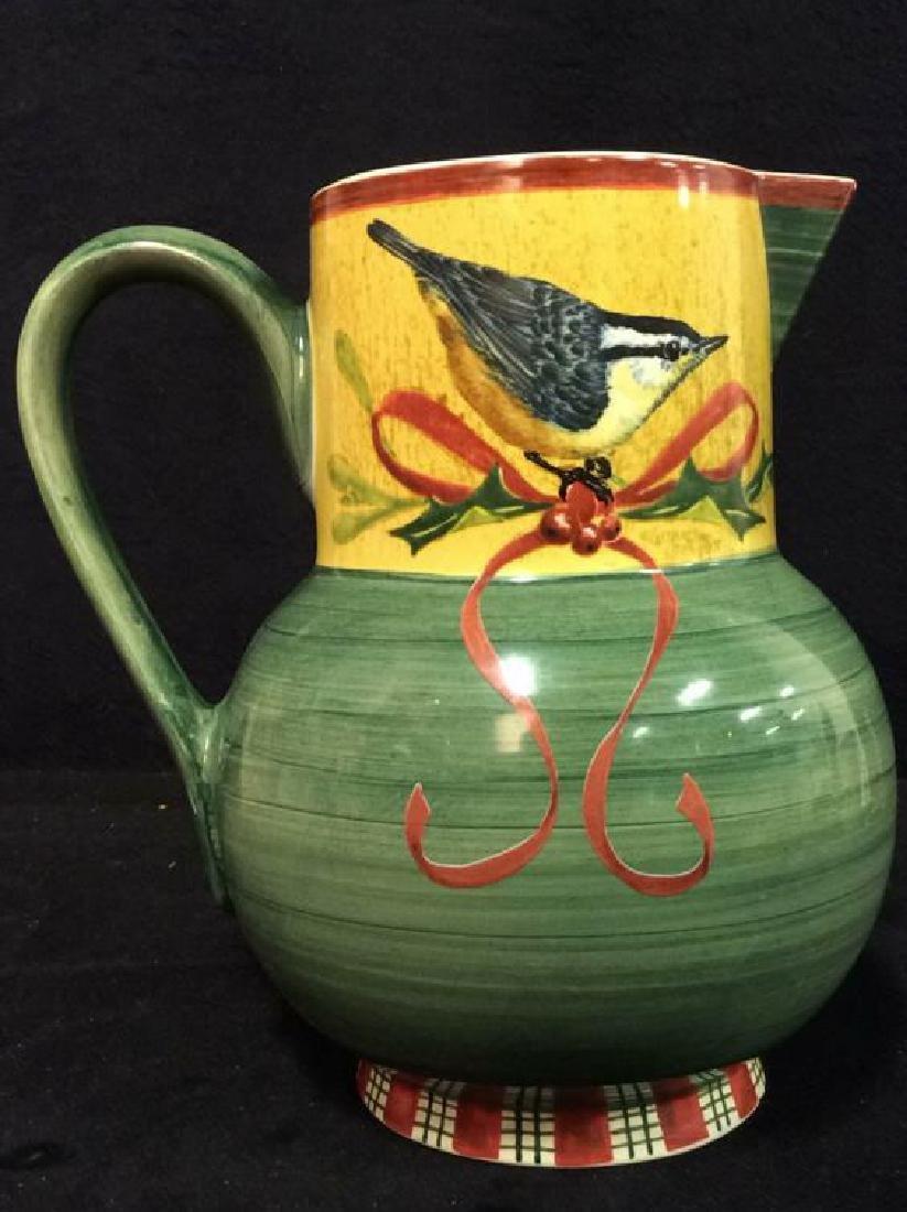 Ceramic Porcelain Painted LENOX Pitcher