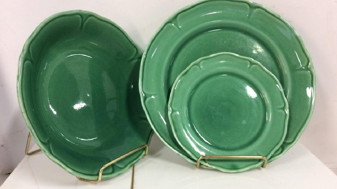 Lot 3 Mount Clemens Pottery Dishes