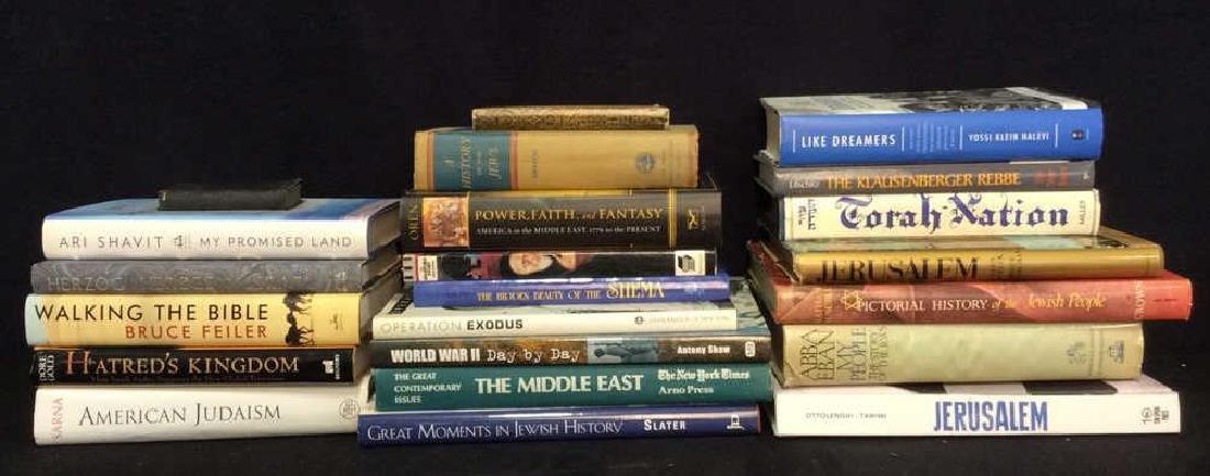 Lot 22 Assorted Judaica Books & More