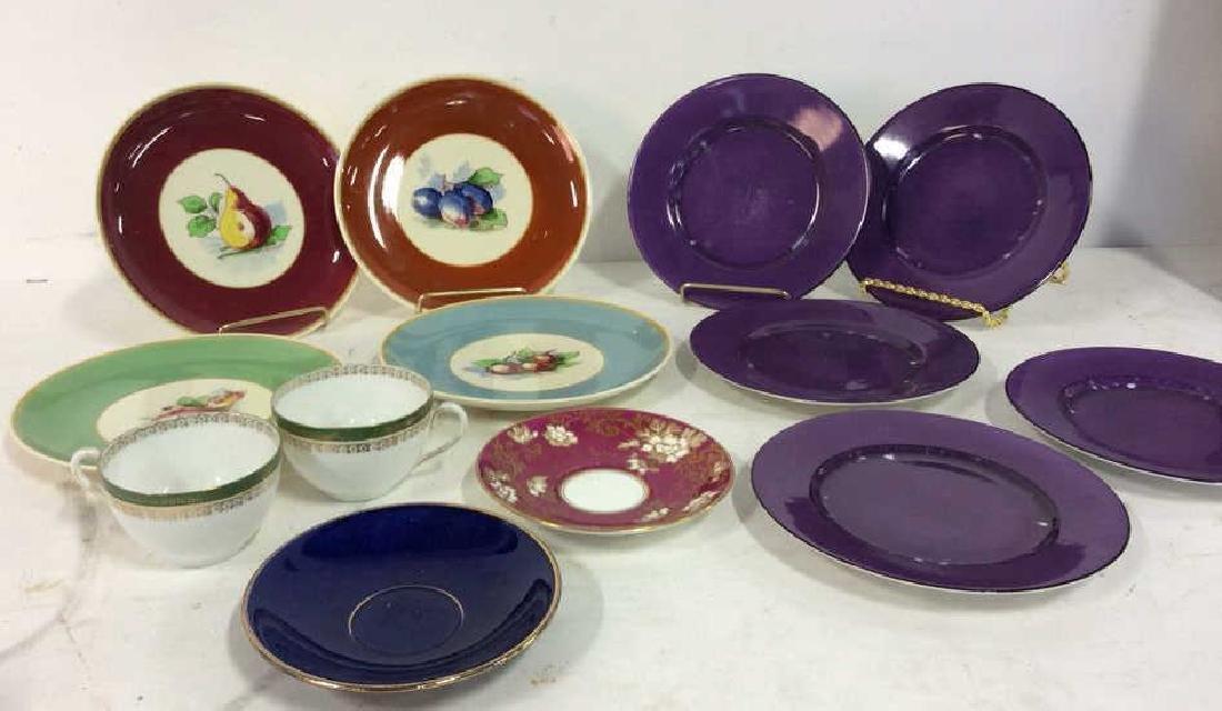 Lot 14 Assorted Porcelain Dishes