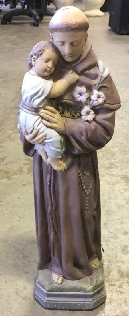 Indoor Outdoor Ceramic Sculpture Bishop
