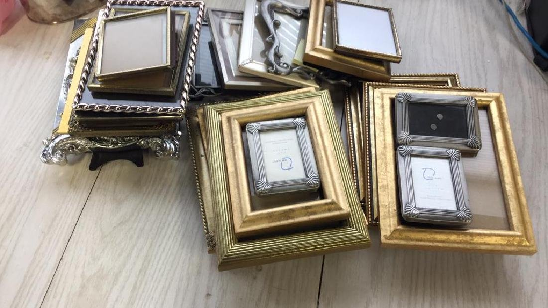 Group Lot 24 Decorative Picture Frames