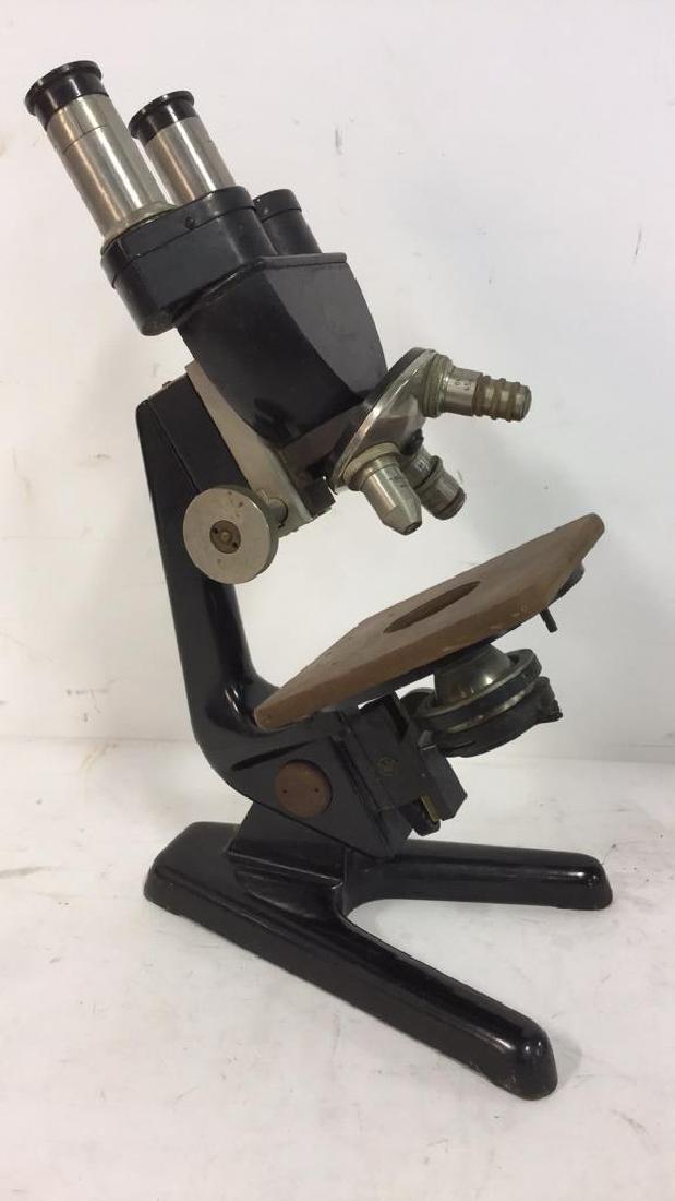 Vintage Carl Zeiss Jenna Microscope