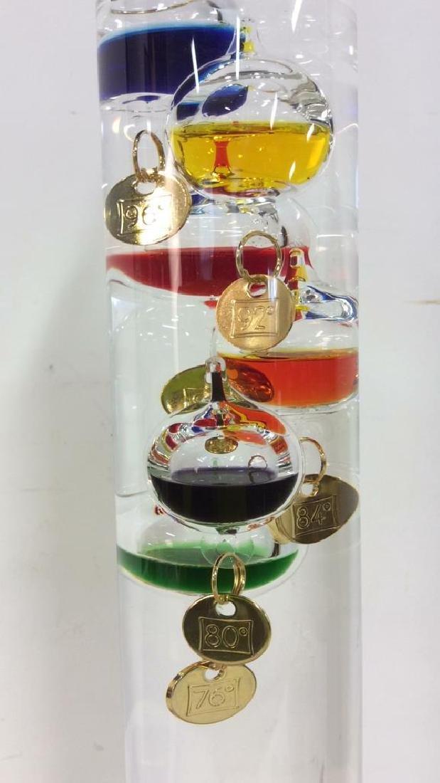 Handmade German Galileo Tabletop Thermometer