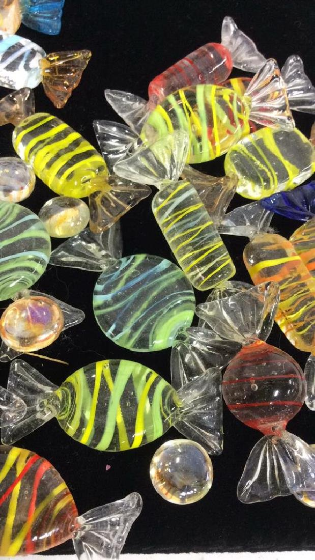 Glass/Crystal Colorful Venetian Art Glass Candies