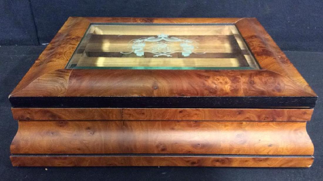 EVERMOIST By GARY SCOTT INTL Cigar Humidor