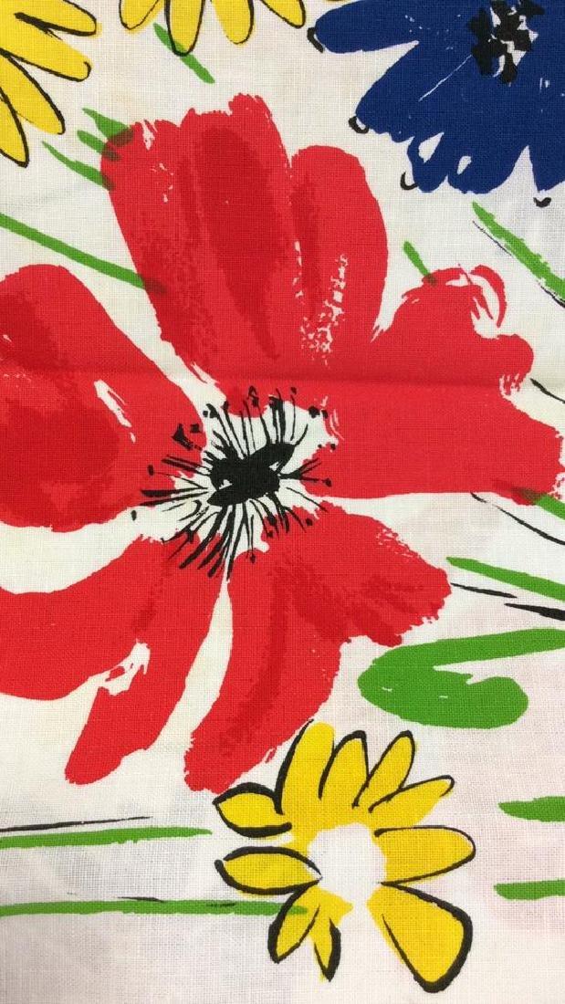 Lot 12 Vintage Vera Neumann Pop Art Cloth Napkins - 3