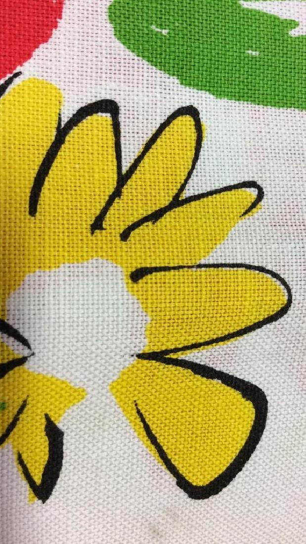 Lot 12 Vintage Vera Neumann Pop Art Cloth Napkins - 5