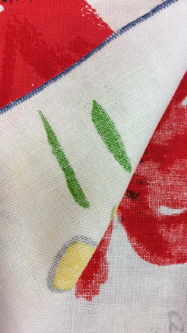 Lot 12 Vintage Vera Neumann Pop Art Cloth Napkins - 6