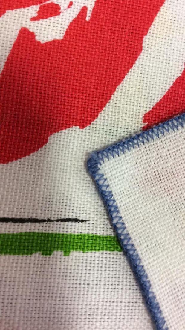 Lot 12 Vintage Vera Neumann Pop Art Cloth Napkins - 7