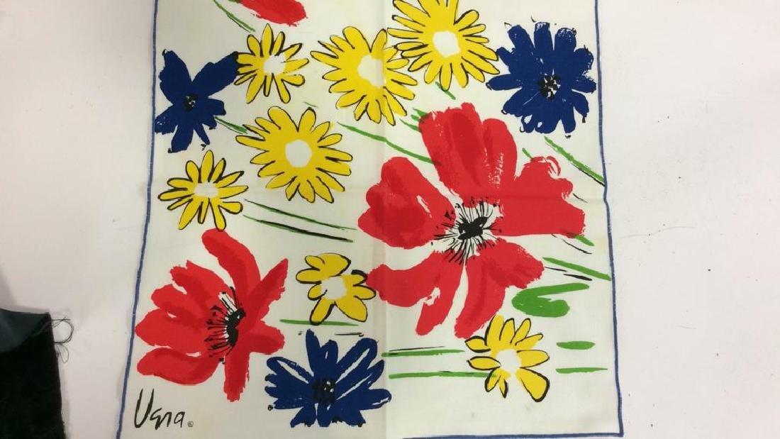 Lot 12 Vintage Vera Neumann Pop Art Cloth Napkins - 8