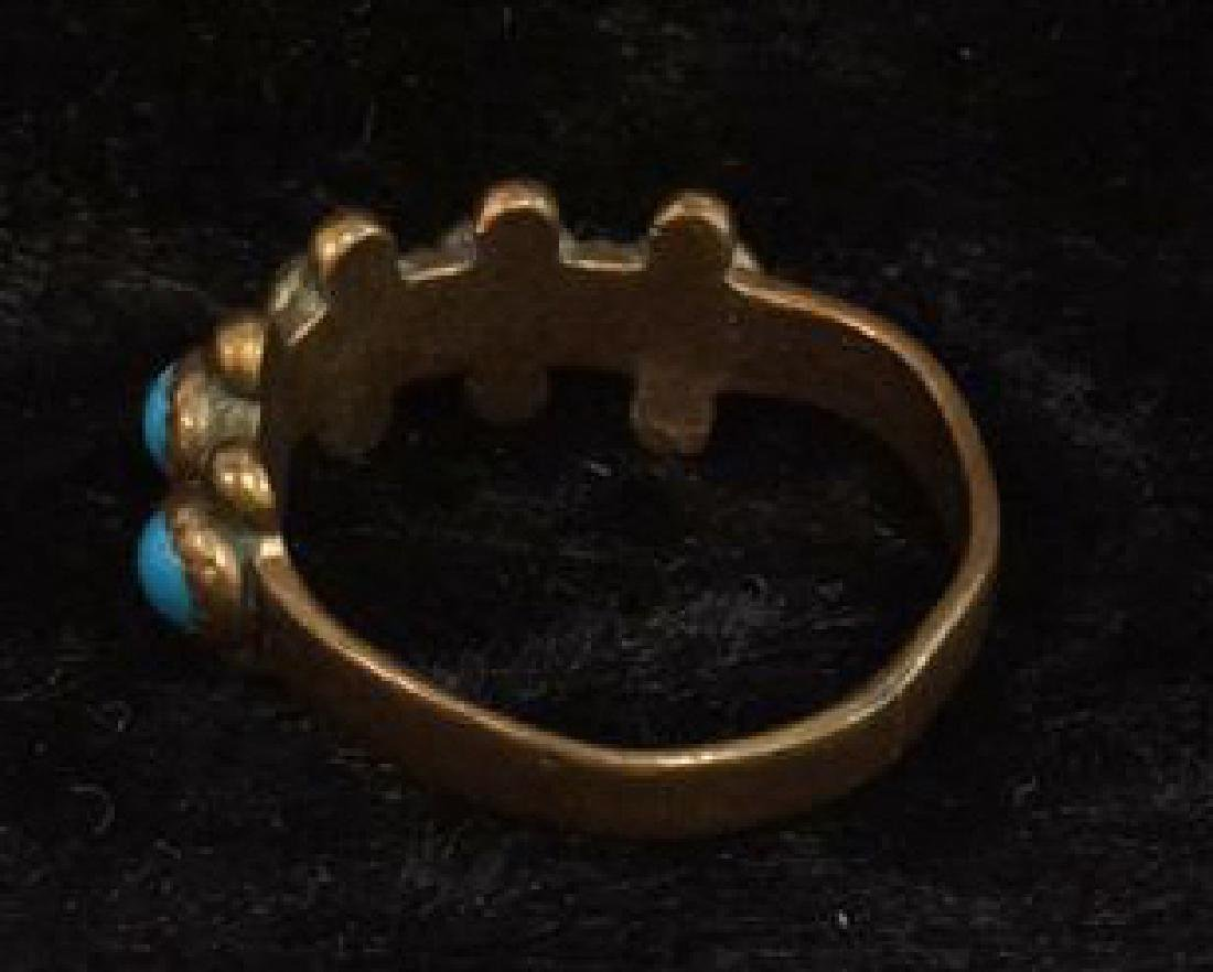 Lot 6 Assorted Costume Jewelry Rings - 10