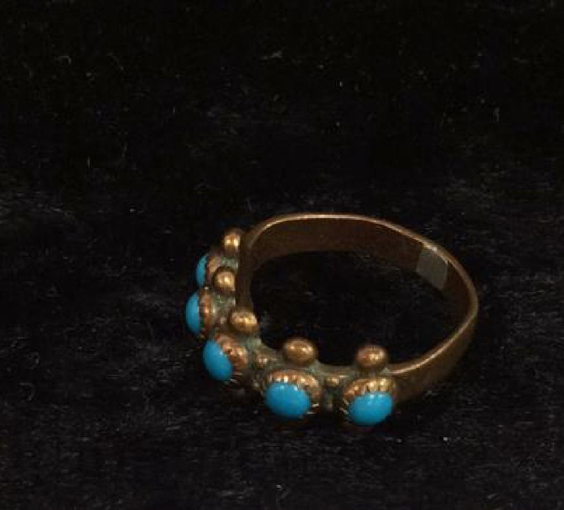 Lot 6 Assorted Costume Jewelry Rings - 11