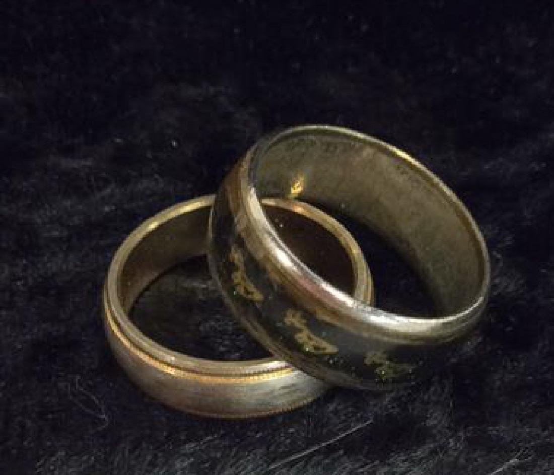 Lot 6 Assorted Costume Jewelry Rings - 2