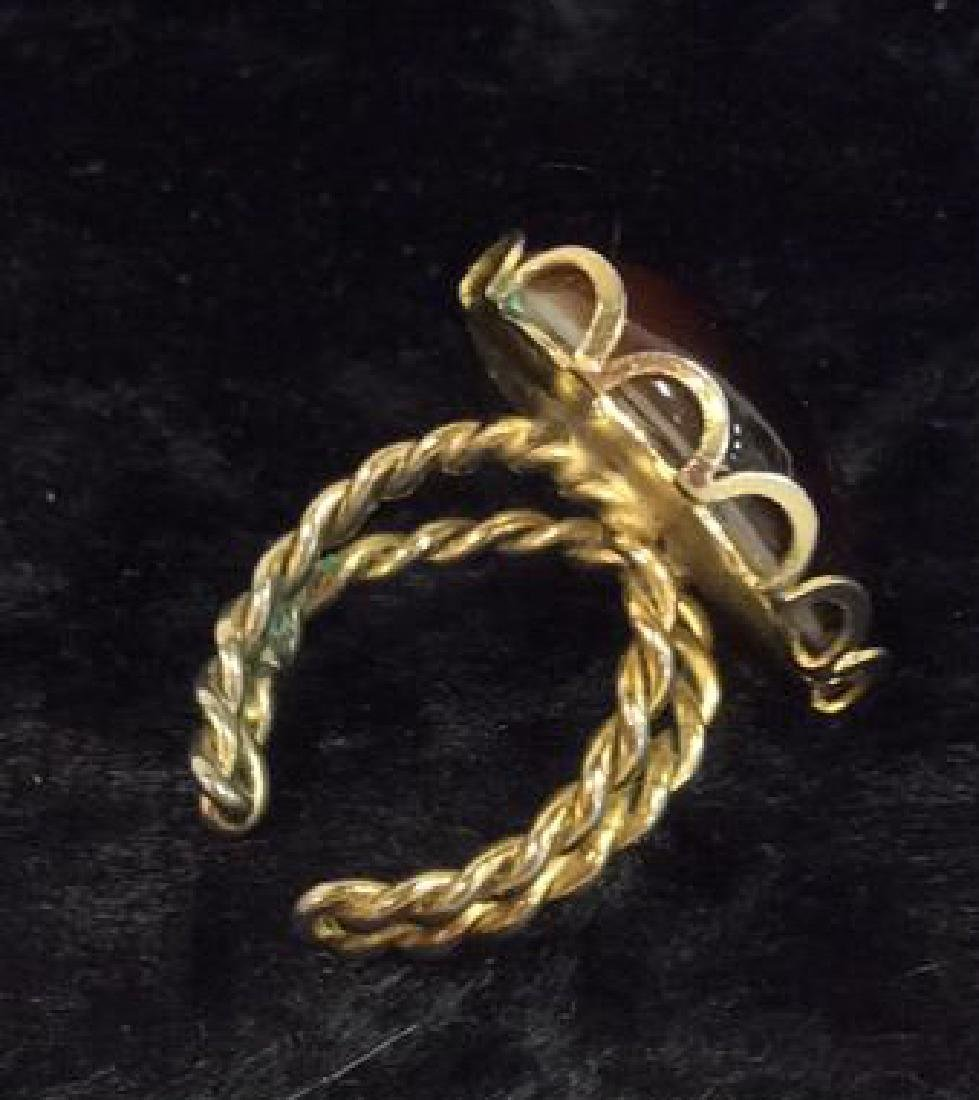 Lot 6 Assorted Costume Jewelry Rings - 4