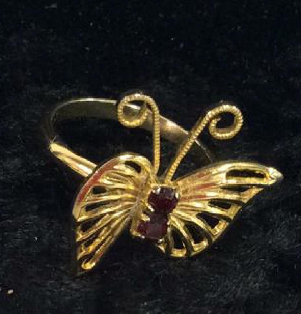 Lot 6 Assorted Costume Jewelry Rings - 5