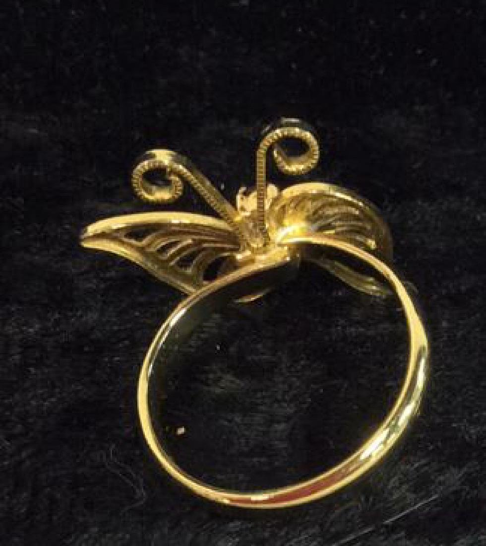 Lot 6 Assorted Costume Jewelry Rings - 6