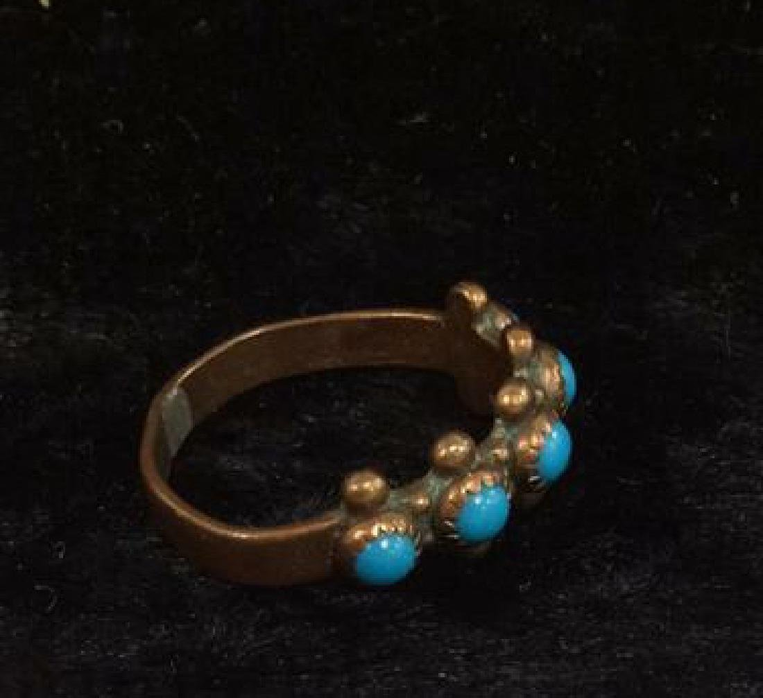 Lot 6 Assorted Costume Jewelry Rings - 9