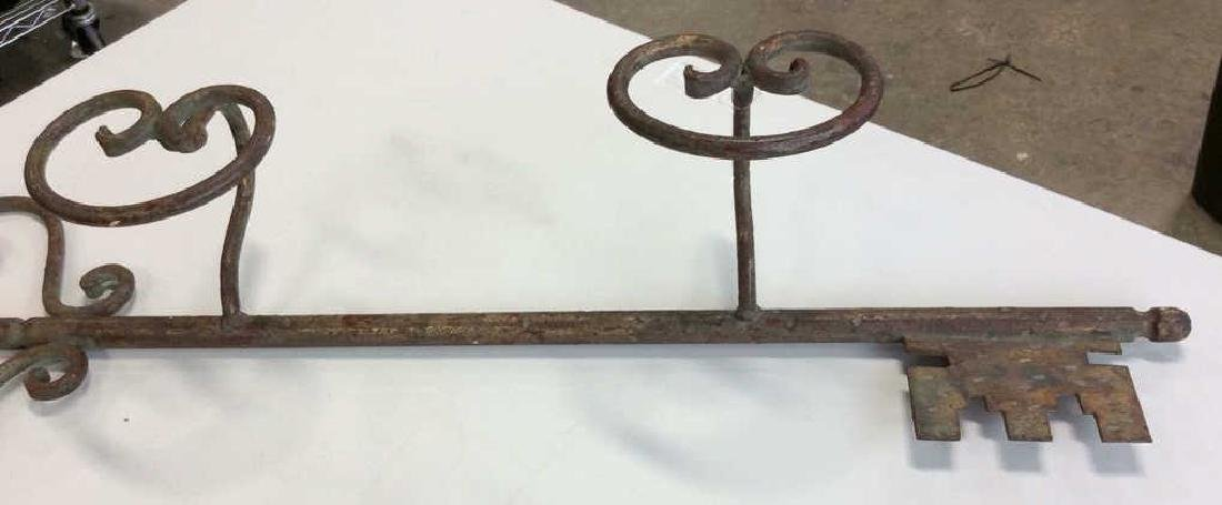 Hand Crafted Iron Hat RackPortugal - 6