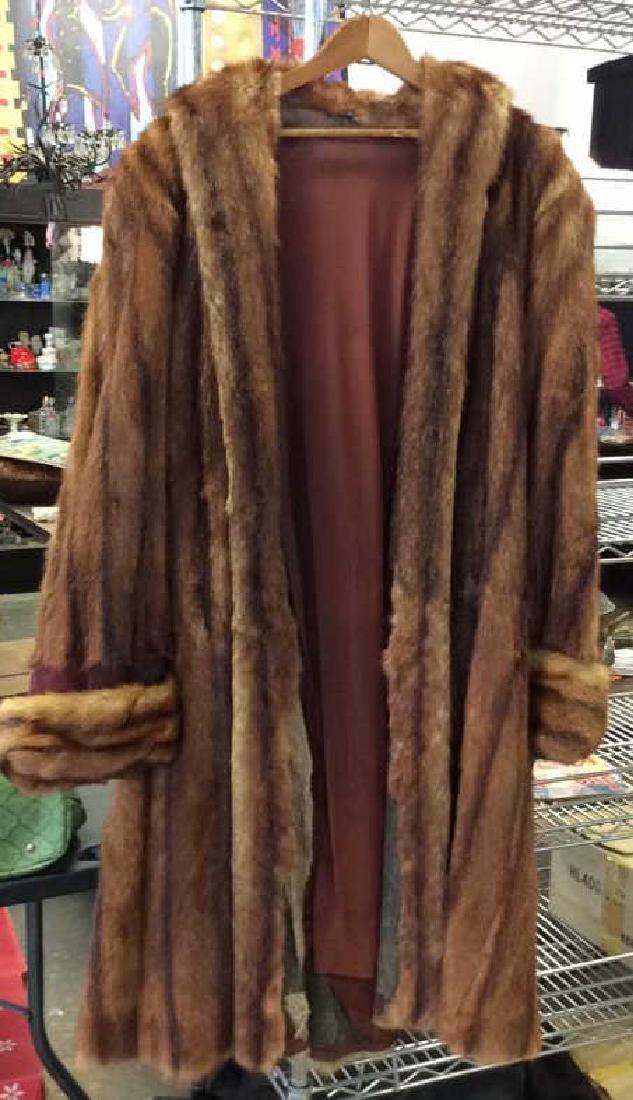 Ladies Vintage Fur Coat - 2