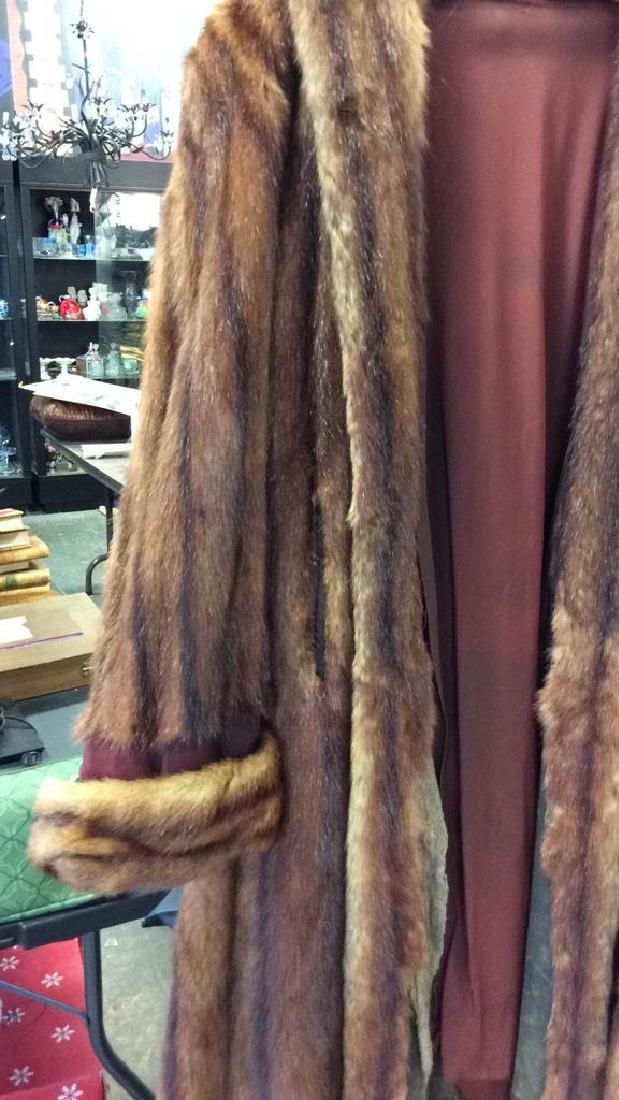 Ladies Vintage Fur Coat - 3