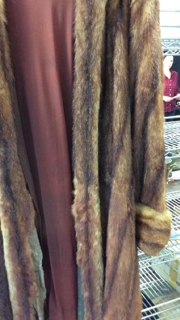 Ladies Vintage Fur Coat - 4