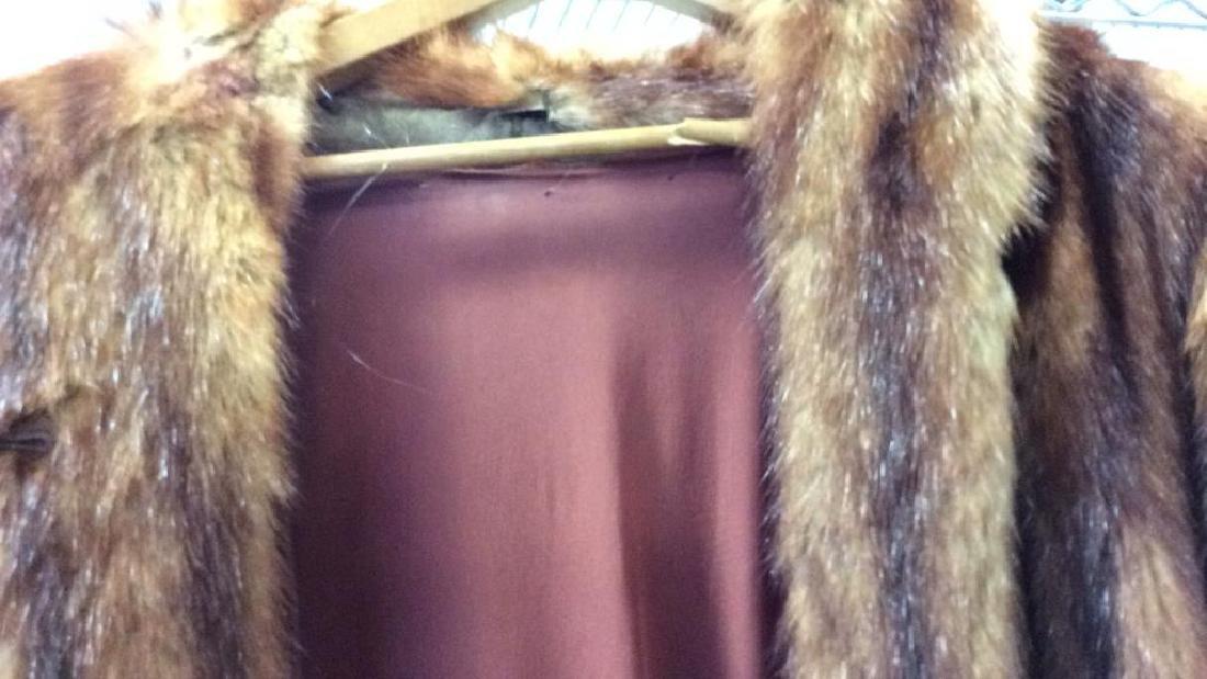 Ladies Vintage Fur Coat - 5