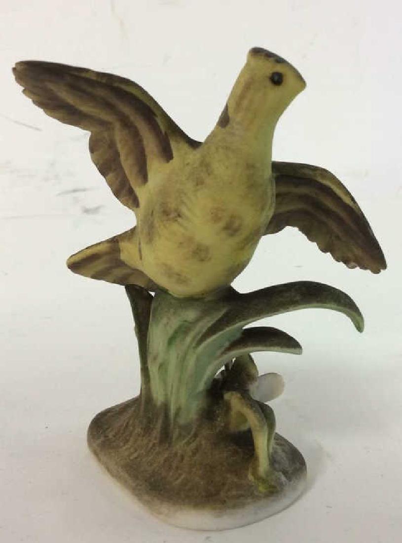 Lot 3 Ceramic Porcelain Bird Figurals - 2