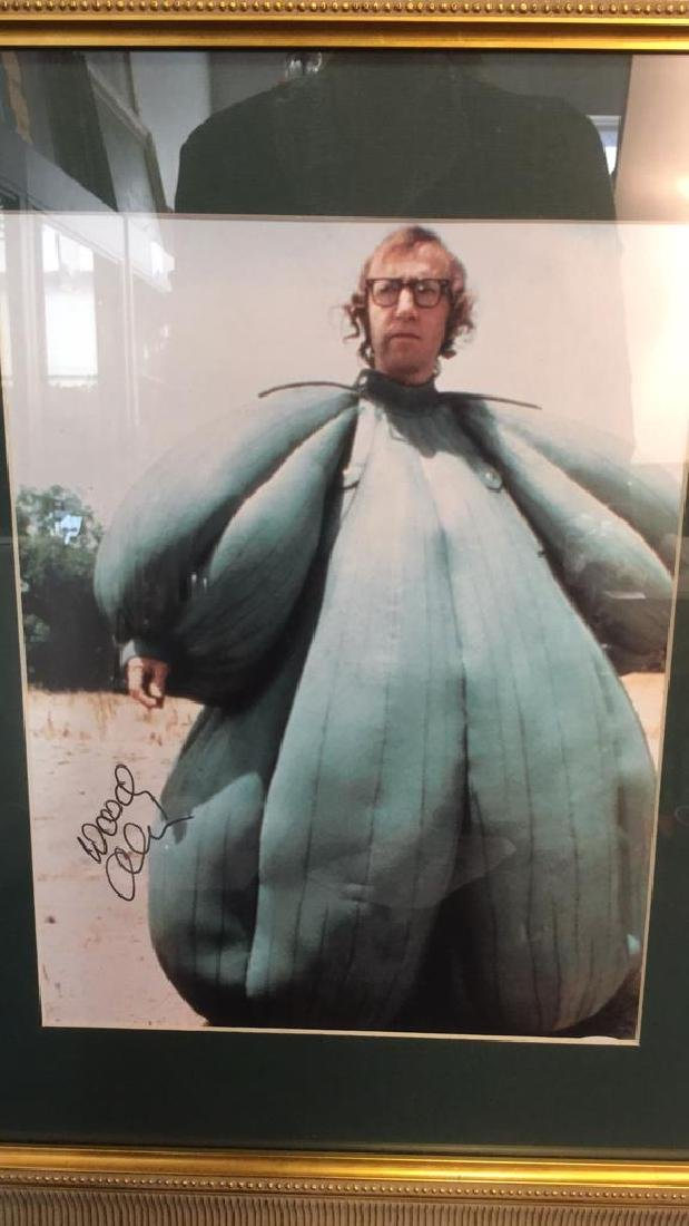 Framed Photograph Of Woody Allen